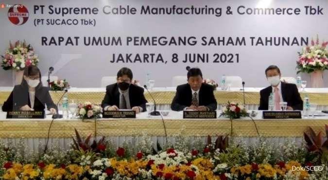 Supreme Cable Manufacturing (SCCO) bagi dividen Rp 61,67 miliar, simak jadwalnya