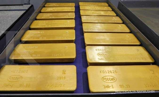 Harga emas diramal bergerak flat di pekan ini, begini saran analis