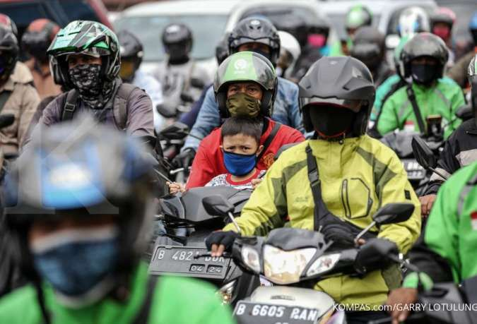 Berlaku di jalan mana saja jika ganjil genap motor diterapkan?