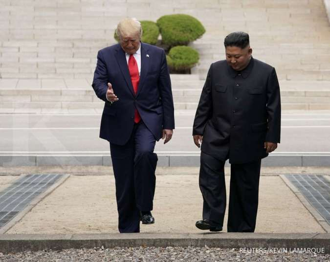 Donald Trump tawari tumpangan pulang dengan Air Force One, Kim Jong Un menolak