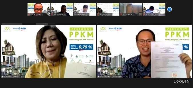 BTN gandeng Greenwoods tawarkan promo PPKM dengan bunga KPR 0,75%
