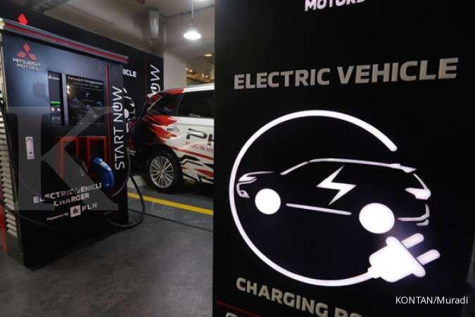 Pabrik bahan baku kendaraan listrik pertama di Indonesia beroperasi
