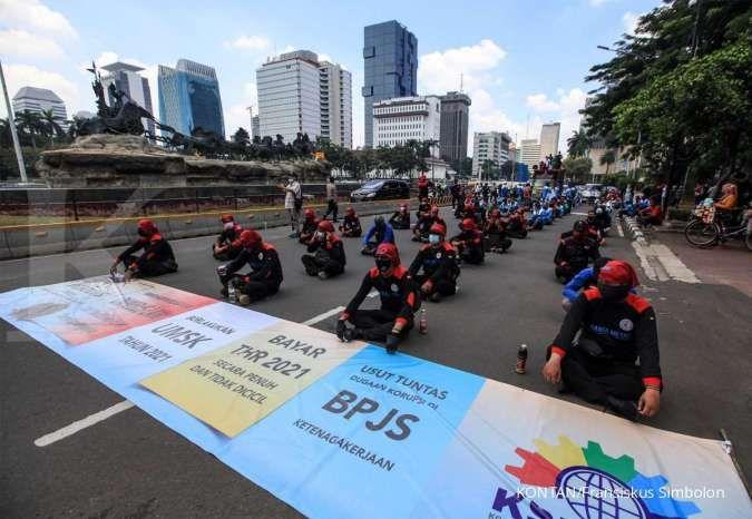 Dirlantas Metro Jaya: Demo buruh akan digelar hingga jelang buka puasa