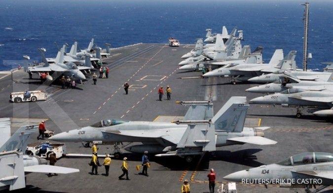 Militer China bersiap menghadapi pertempuran sengit dengan AS di Laut China Selatan