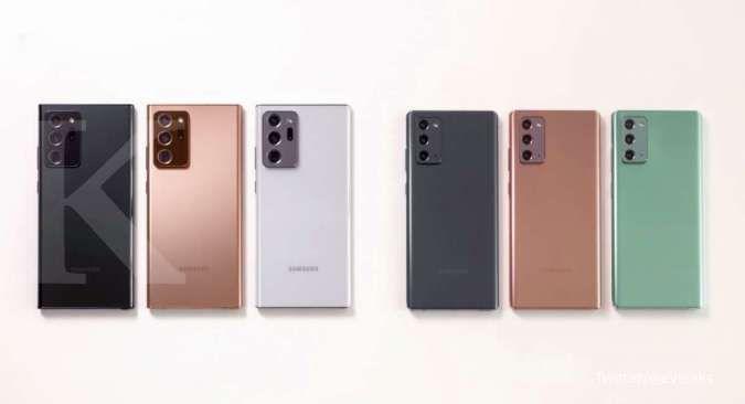 ILUSTRASI: Samsung Galaxy Note 20 dan Note 20 ultra