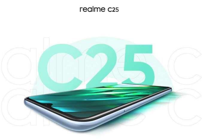 Spesifikasi & harga HP Realme C25: Kamera 48MP, baterai 6.000 mAh, hanya Rp 2 jutaan