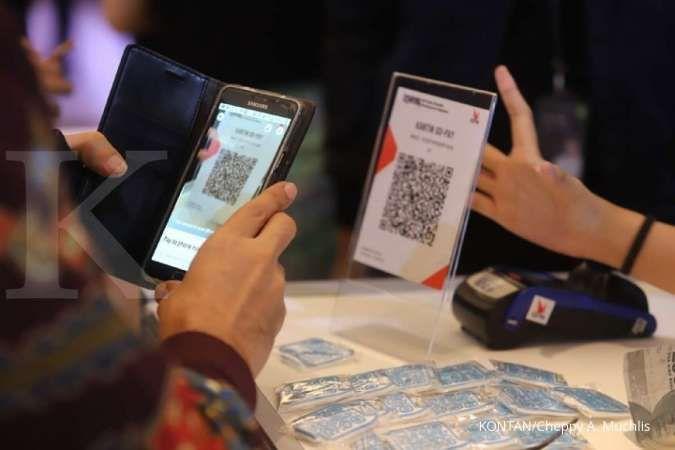 Dorong transaksi non tunai, Bank Permata akuisisi merchant QRIS di Pasar Tomang Barat