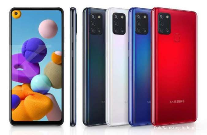 Spesifikasi dan harga Samsung A21s