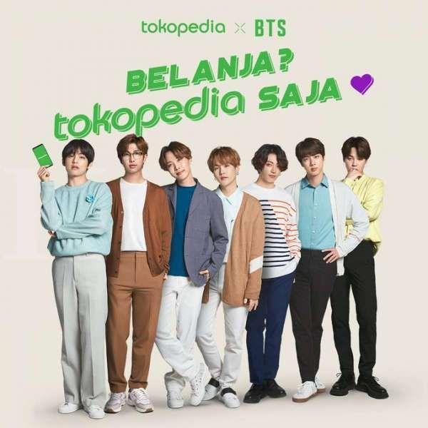 Tokopedia menggandeng BTS, Boyband asal Korea Selatan