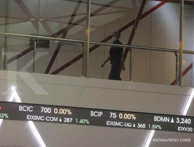 IHSG merosot 1,66%, asing banyak melepas saham-saham ini, Jumat (22/1)