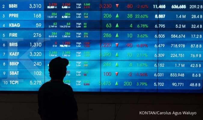 Saham-saham ini paling banyak dilepas asing saat IHSG turun tipis, Jumat (16/10)