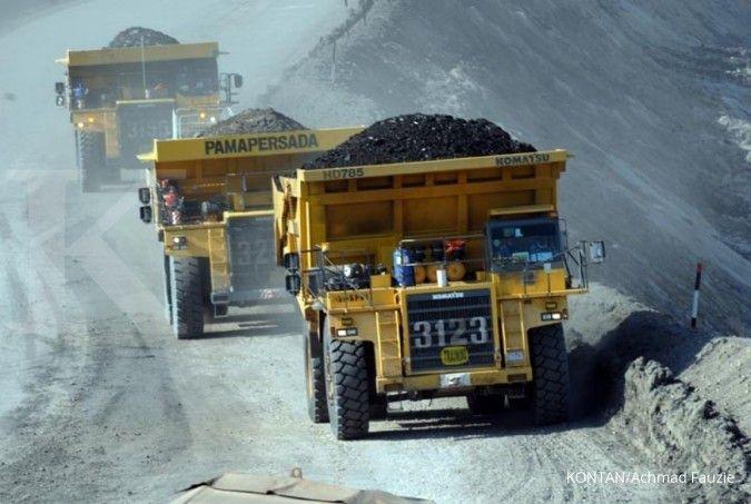 Harga batubara menguat, Adaro Energy (ADRO) belum berencana kerek produksi
