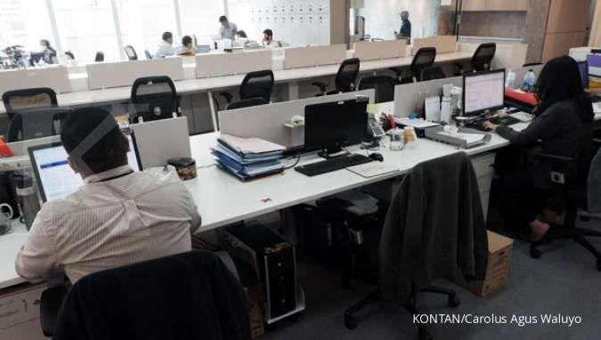 Kemenaker terapkan 75% WFH bagi pegawai di zona merah