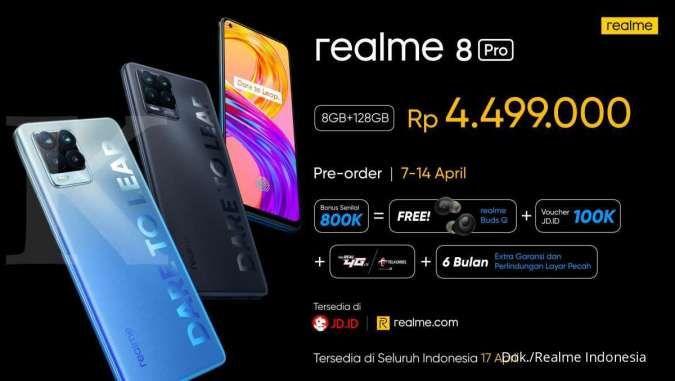 Harga HP Realme 8 Pro
