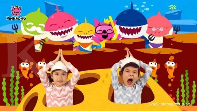 Baby Shark Dance jadi video paling banyak ditonton di Youtube, raih 7,04 miliar view
