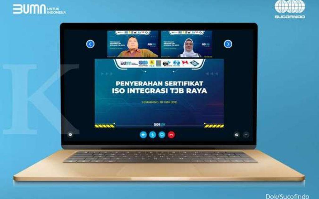 Sucofindo Serahkan Sertifikat Integrasi SNI ISO kepada PT PLN (Persero) Unit Induk Pembangkitan Tanjung Jati B