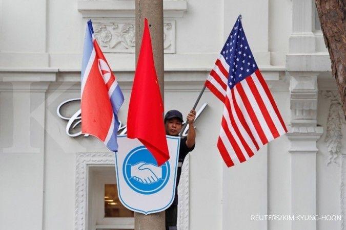 AS disebut bakal beri keringanan sanksi untuk Korea Utara demi denuklirisasi