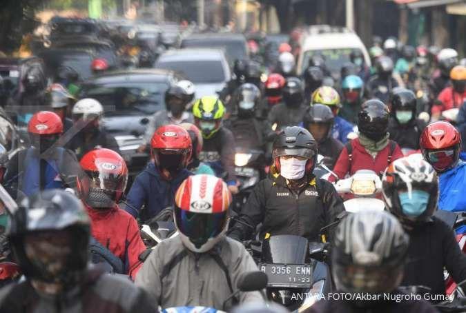 Sah! Ganjil genap motor Jakarta berlaku saat PSBB transisi