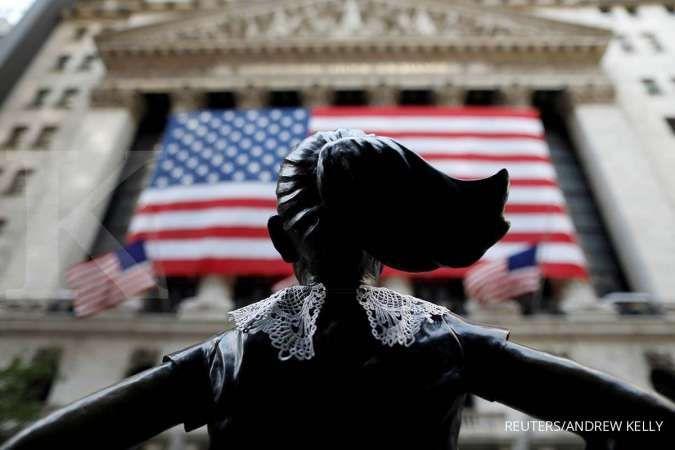 Wall Street naik, didukung stimulus baru yang meredakan kekhawatiran shutdown