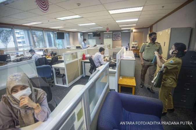 Mayoritas kantor yang ditutup sementera di Jakpus karena melanggar aturan jaga jarak