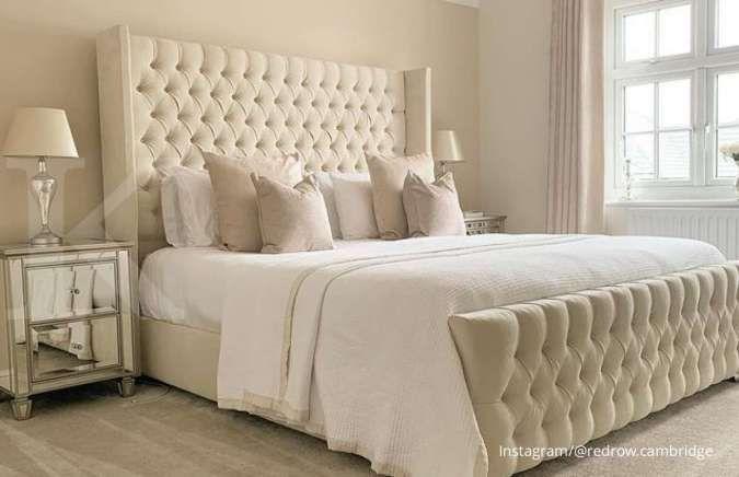 Netral dan Hangat, Berikut Inspirasi Kamar Tidur Warna Cream