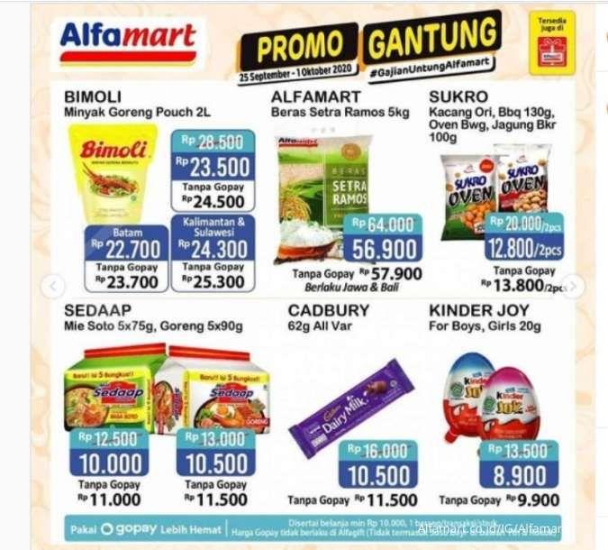 Promo Alfamart hari ini 30 September 2020, harga Bimoli Rp 24.000-an!