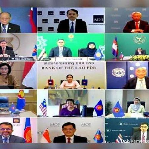 Para Menteri Keuangan dan Gubernur Bank Sentral ASEAN Bertemu dan Perkuat Kerja Sama Pemulihan Ekonomi