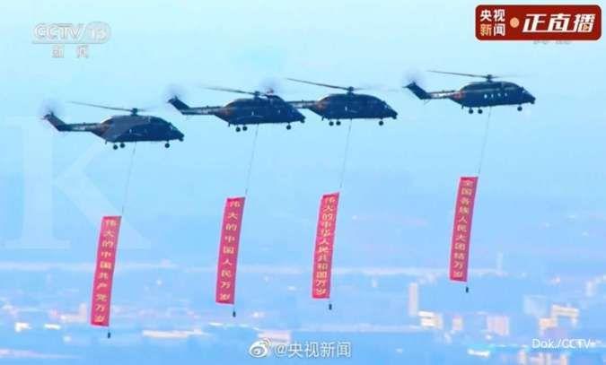 Helikopter Z-8L, helikopter angkut militer baru milik China