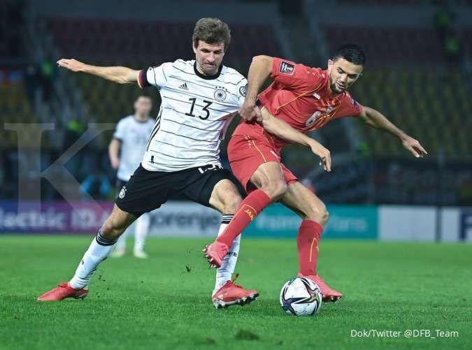 Hasil kualifikasi Piala Dunia 2022 Makedonia Utara vs Jerman