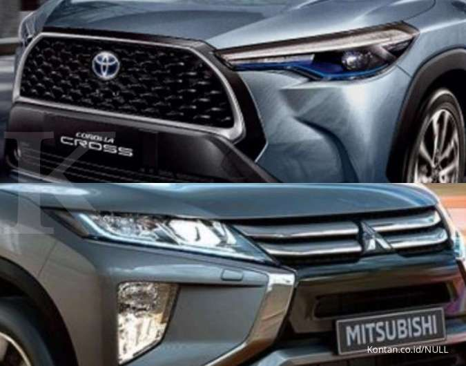 Komparasi SUV 5-seater, pilih Toyota Corolla Cross atau Mitsubishi Eclipse Cross?