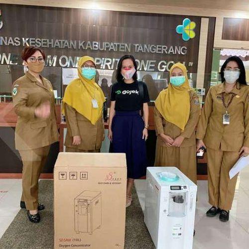 BangkitBersama Tangani Covid-19, GoTo Donasikan Lebih dari 1.000 Konsentrator Oksigen bagi Faskes di Indonesia