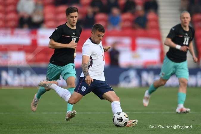 Hasil laga Inggris vs Austria di Uji Coba sebelum Euro 2021