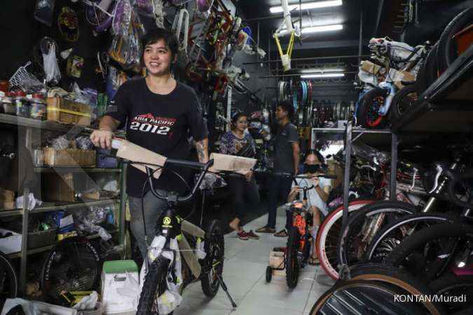 Harga sepeda gunung wanita Polygon Cleo 2 hanya Rp 3 jutaan