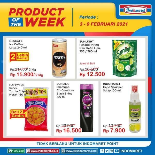 Promo Indomaret Product of The Week 3-9 Februari 2021