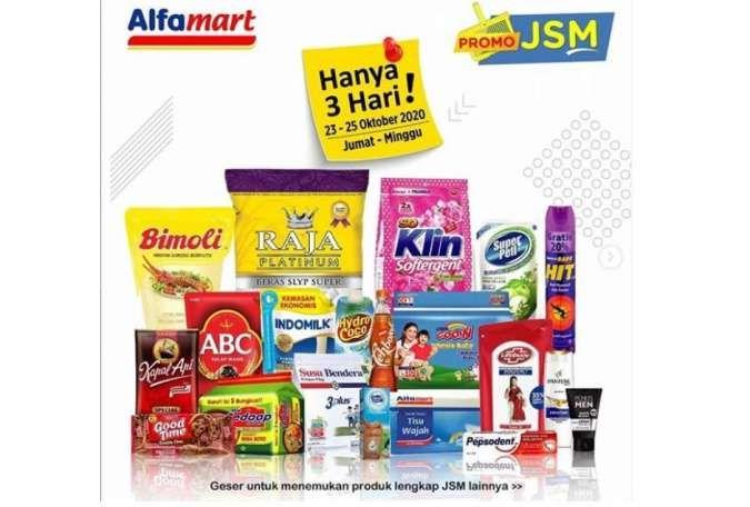 Promo Jsm Alfamart Terbaru Diskonan Weekend 23 25 Oktober 2020