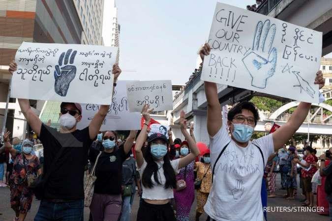Separuh populasi Myanmar bisa terpapar Covid-19 dalam dua minggu ke depan