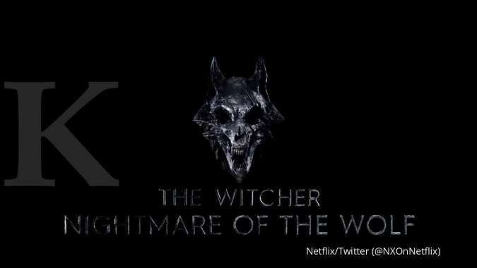 Logo terungkap, film anime Netflix The Witcher Nightmare of the Wolf mengudara 2021