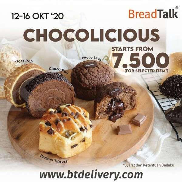 Promo BreadTalk 12-16 Oktober 2020