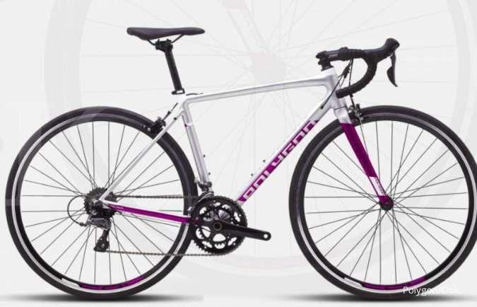 Pas banget buat pecinta gowes di aspal, ini dia harga sepeda Polygon Strattos S2