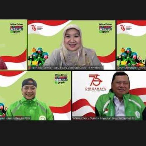 Gojek dan 90 Ribu Mitra Drivernya Peringati Kemerdekaan Republik Indonesia, BangkitBersama dari Pandemi Covid-19