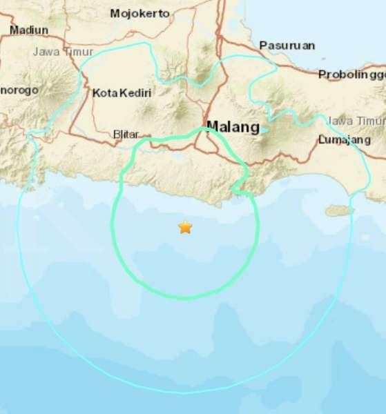 Dampak gempa Malang di Blitar, 11 luka-luka dan 202 bangunan rusak