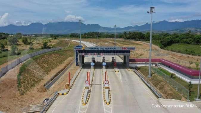 Hutama Karya: Jalan tol Sigli - Banda Aceh seksi 3 beroperasi besok, Rabu (10/3)