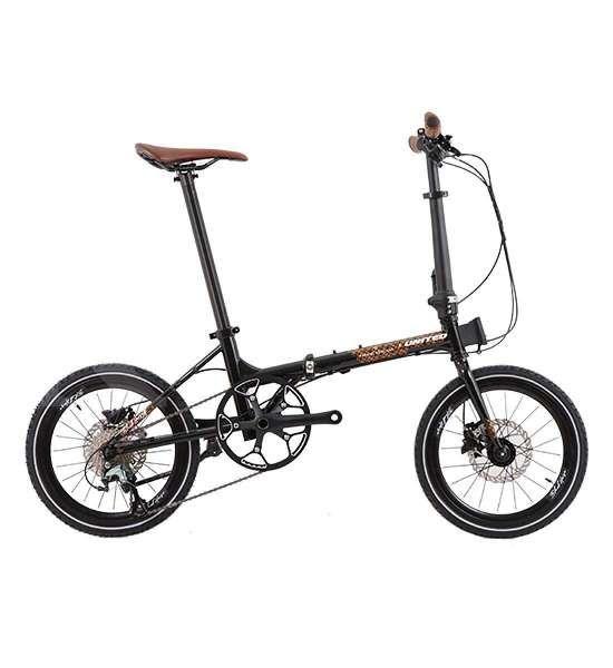 Spesial, harga sepeda lipat United Black Horse X Parang Kencana ramah di kantong