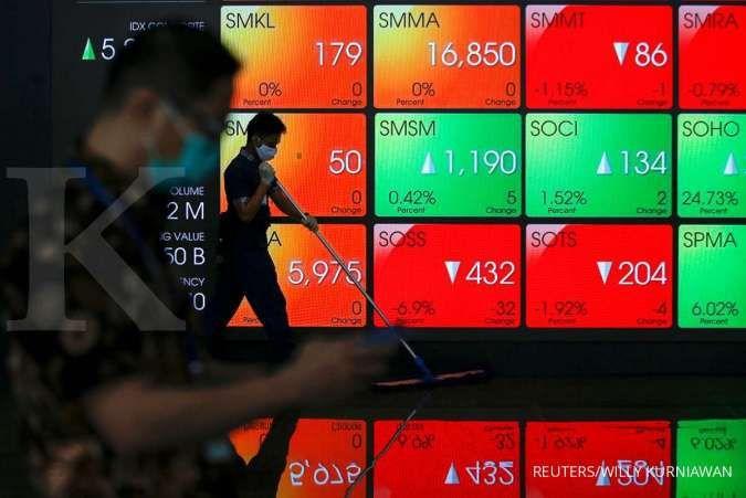 IHSG hari ini berpeluang melanjutkan koreksi, analis merekomendasikan saham BBNI, HMSP, AKRA, BBCA, JSMR, dan TOWR. REUTERS/Willy Kurniawan