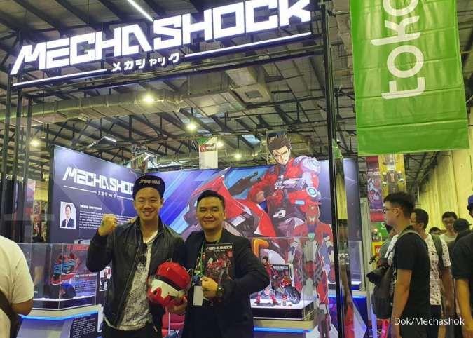 Komik dan action figure Indonesia, Mechashock bakal ekspansi ke pasar Jepang