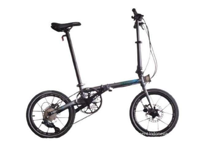 Diskon masih berlangsung ! Harga sepeda lipat Element Troy X 9SP Grey jadi terjangkau