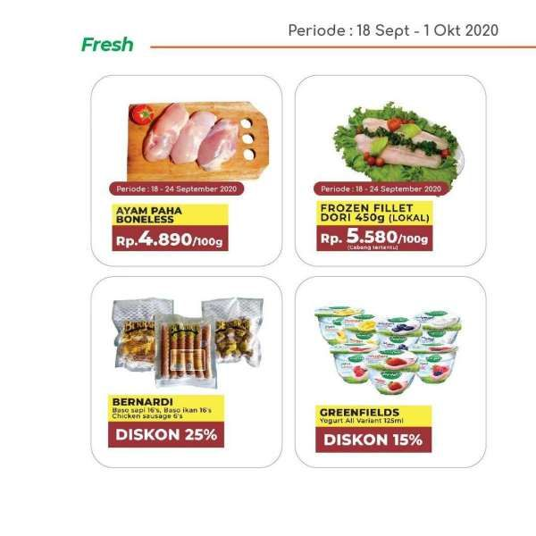 Promo Yogya Supermarket hari ini 28 September 2020, masih ada diskon!