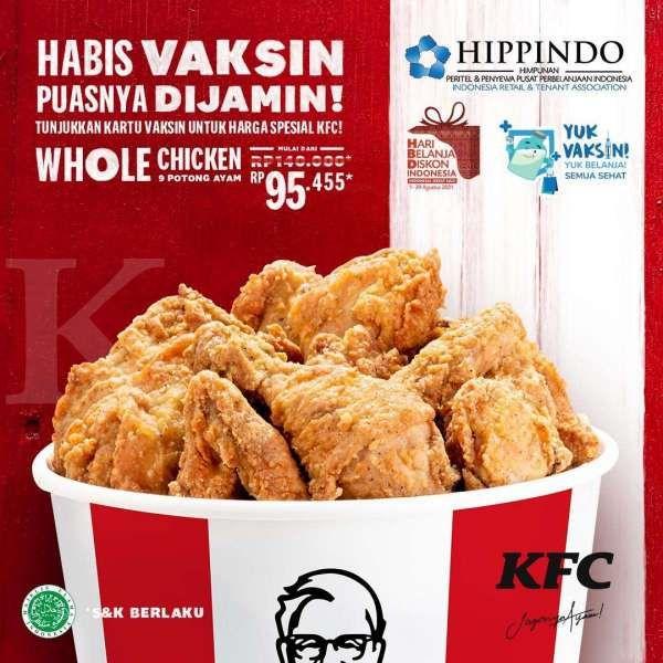 Promo KFC bulan Agustus 2021
