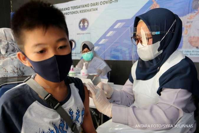 UPDATE Vaksinasi Covid-19, Senin (26/7): Vaksinasi lengkap baru 8,60% dari target