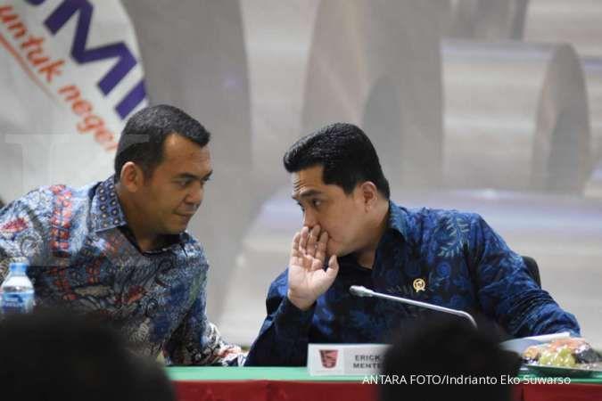 Erick Thohir tempatkan pejabat Kemendag dan PUPR jadi komisaris Krakatau Steel (KRAS)
